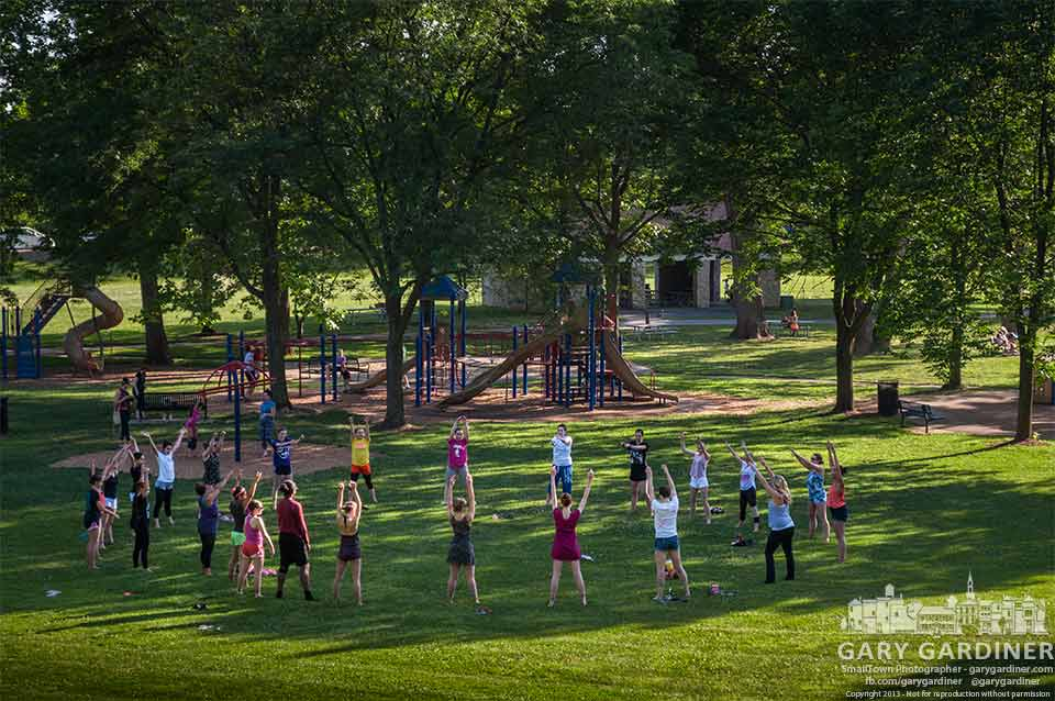 Generations dancers in Alum Creek Park are My Final Photo for June 19, 2013.