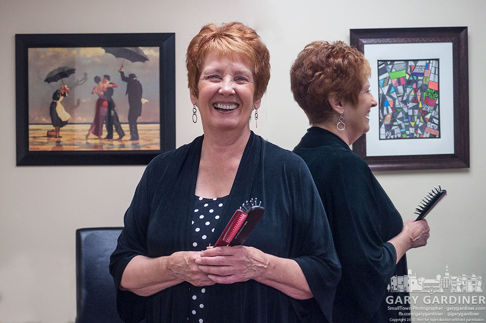 Joan Domanik poses inside Suite 59, the hair salon she's owned for 30 years. My Final Photo for Aug. 9, 2013.