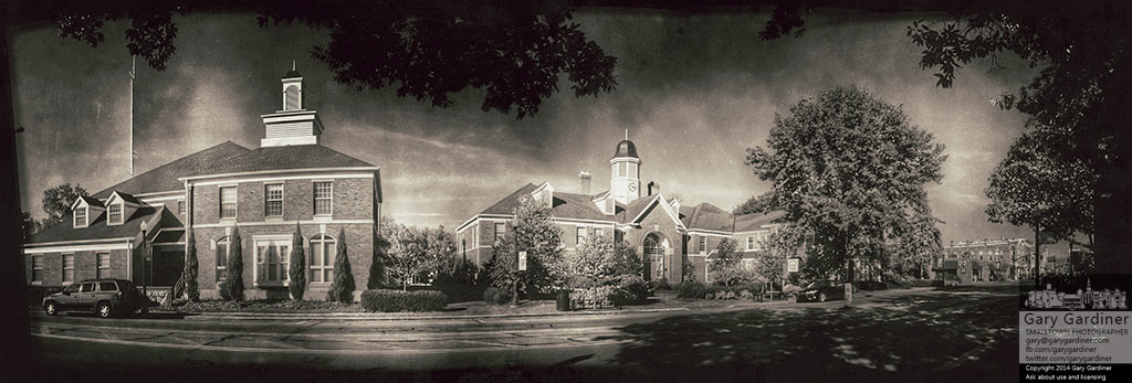 Westerville City Hall in early morning light. My Final Photo for Oct. 19, 2014.