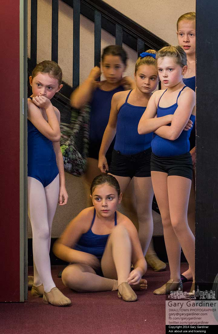 Dancers at Generations watch from a doorway as their friends and fellow dancers finish their afternoon lessons. My Final Photo for Oct. 9, 2014.