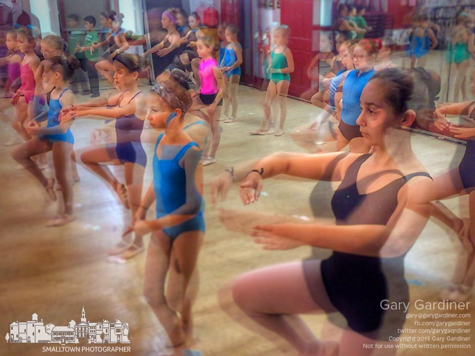 Dancers at Generations practice their ballet skills in this blurred exposure during an afternoon class. My Final Photo for Sept. 29, 2015.