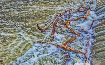 Alum Creek Spillway at its worst – HDR version