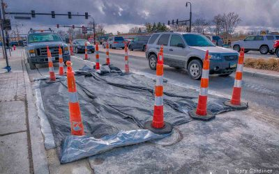 State and Schrock Bus Stop Pad Repairs