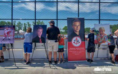 Thomas James Knox Hockey Rink Dedicated