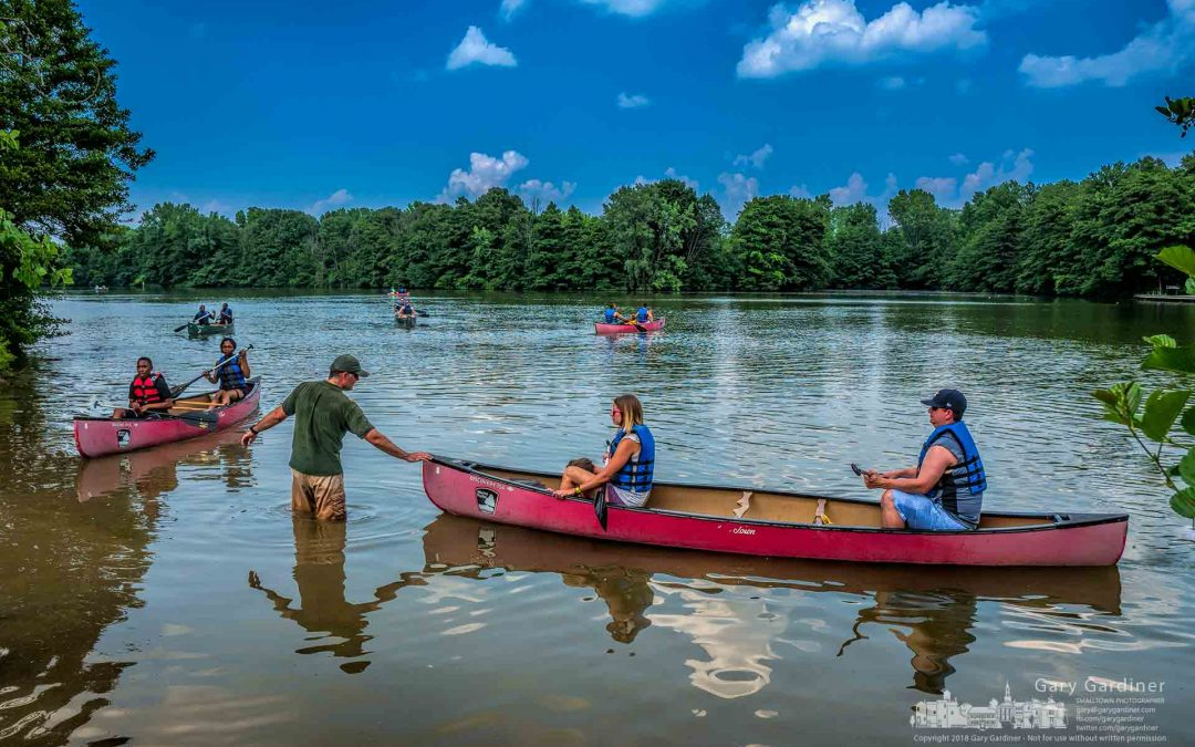Schrock Lake Canoeists