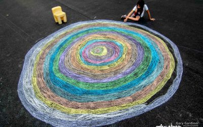 Concentric Chalk Circles