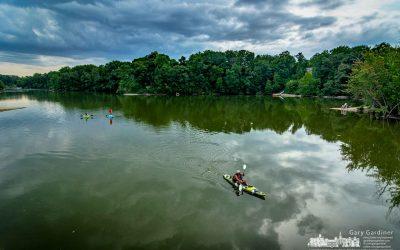 Taking The Kayak Lead