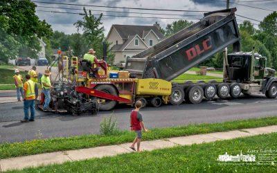 Big Machines On County Line Road
