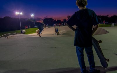 Skating Under The Lights