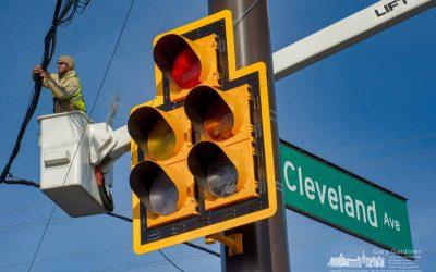 Cleveland Gets New Signals