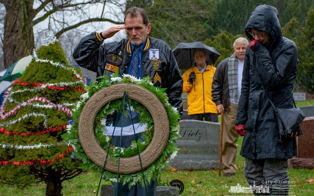 Wreaths Across America At Otterbein Cemetery