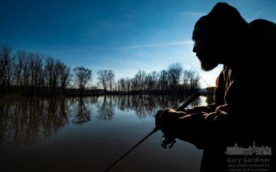 Boardwalk Winter Fishing