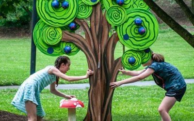 Wonderland Trees In Alum Creek Park