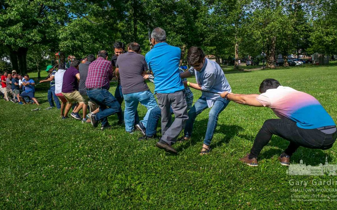 Tug-Of-War Competition