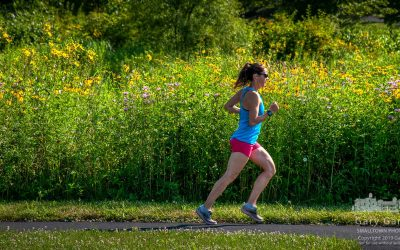 Colorful Morning Run