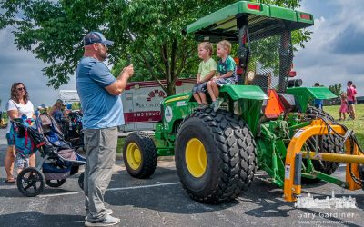 Touching A Tractor At Touch-A-Truck