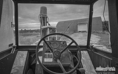 Braun Farm Barn From The Driver's Seat