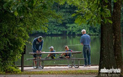 Three Generations Of Fishing