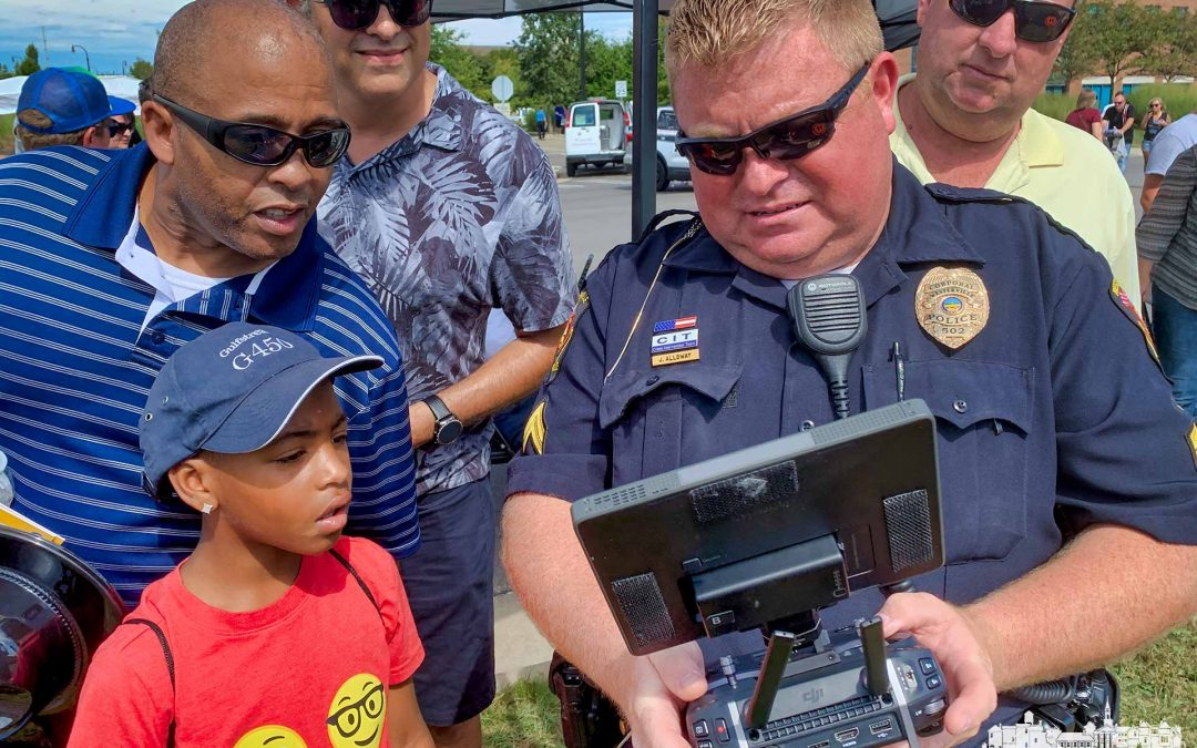 Drone Time At Cops And Kids