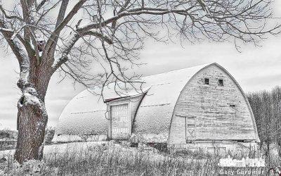 Snow Blanket at Braun Farm