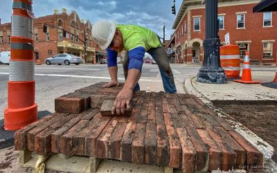 Brick Sidewalks Removed