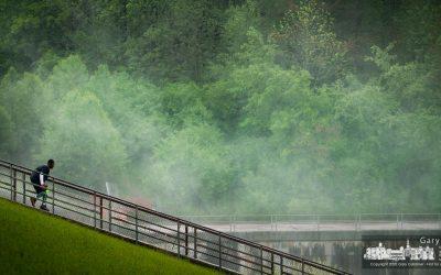 Running In The Mist