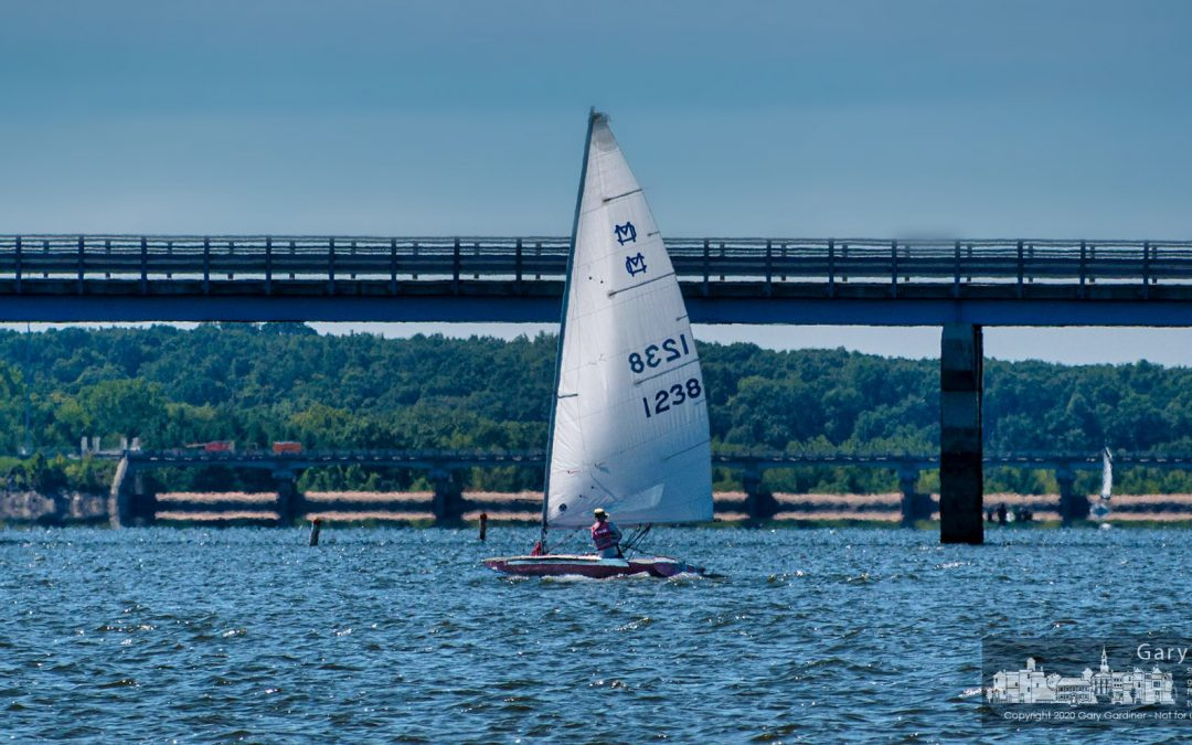 Sailing Across Hoover