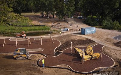 New Park Takes Shape