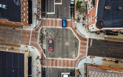 State And Main Crosswalks Complete