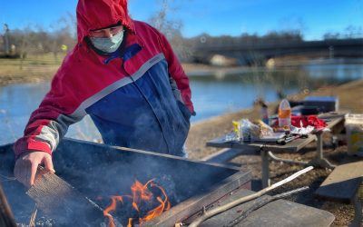 Fire For Frying Fish