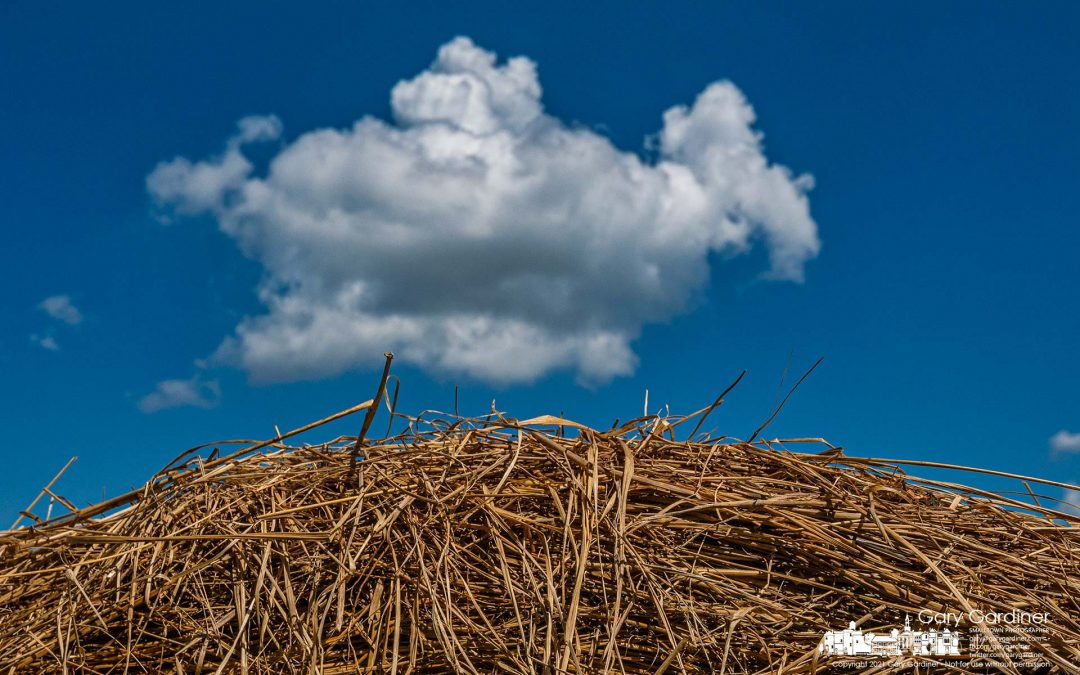 Late Hay Harvest Clouds